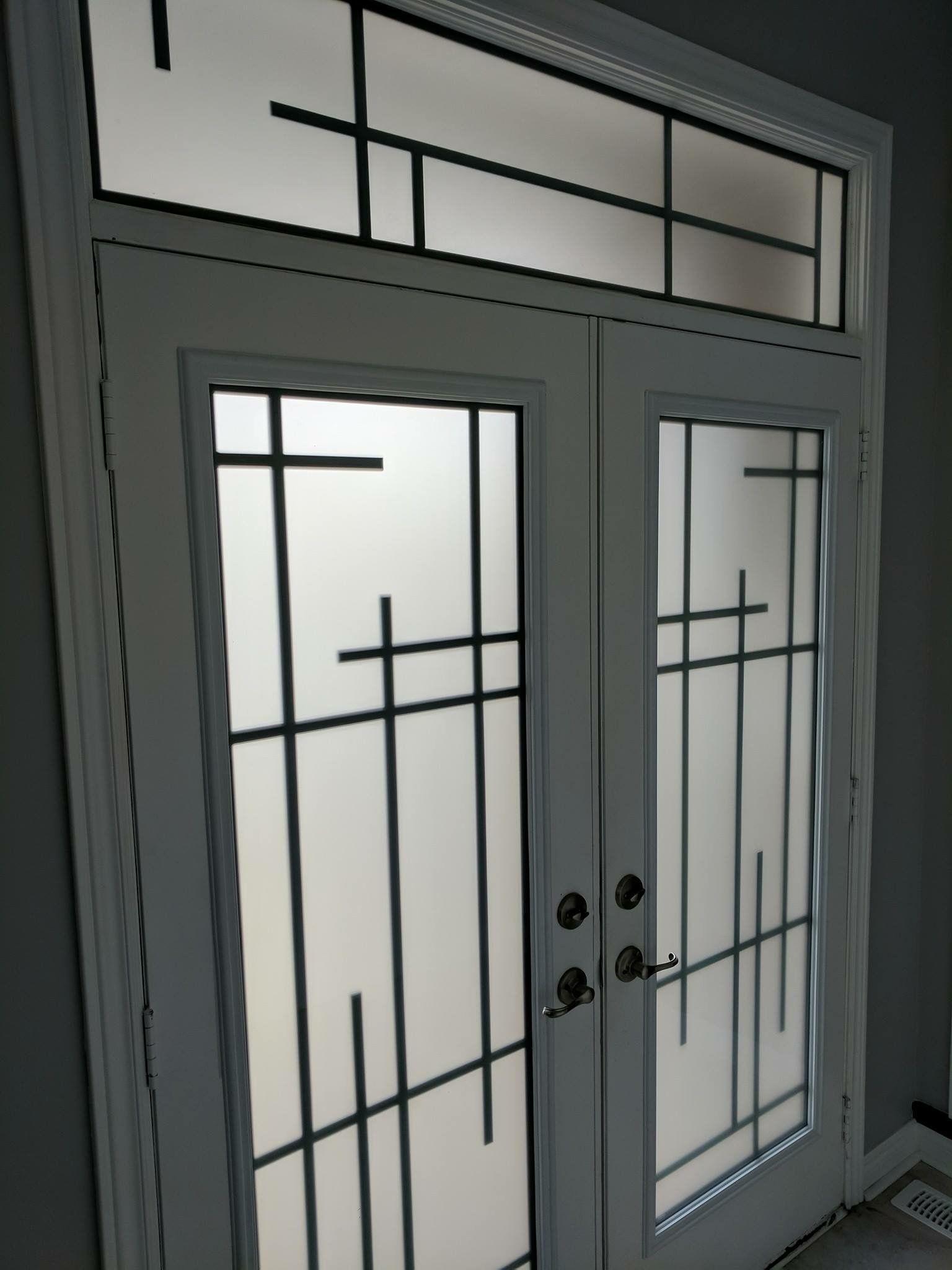 Wrought Zey A1 Glass Inserts Window Grill Design Steel Door Design Door Gate Design