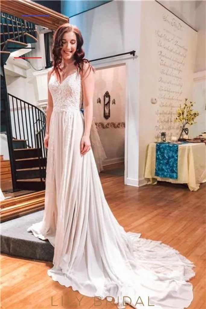 Luxury Applique Spaghetti Straps Sleeveless Long Chiffon Wedding Dress – LilyBridal <a class=pintag href=/explore/dress/ title=#dress explore Pinterest>#dress</a> <a class=pintag href=/explore/fashion/ title=#fashion explore Pinterest>#fashion</a> <a class=pintag href=/explore/homedecor/ title=#homedecor explore Pinterest>#homedecor</a> <a class=pintag href=/explore/lifequotes/ title=#lifequotes explore Pinterest>#lifequotes</a> <a class=pintag href=/explore/frases/ title=#frases explore Pintere
