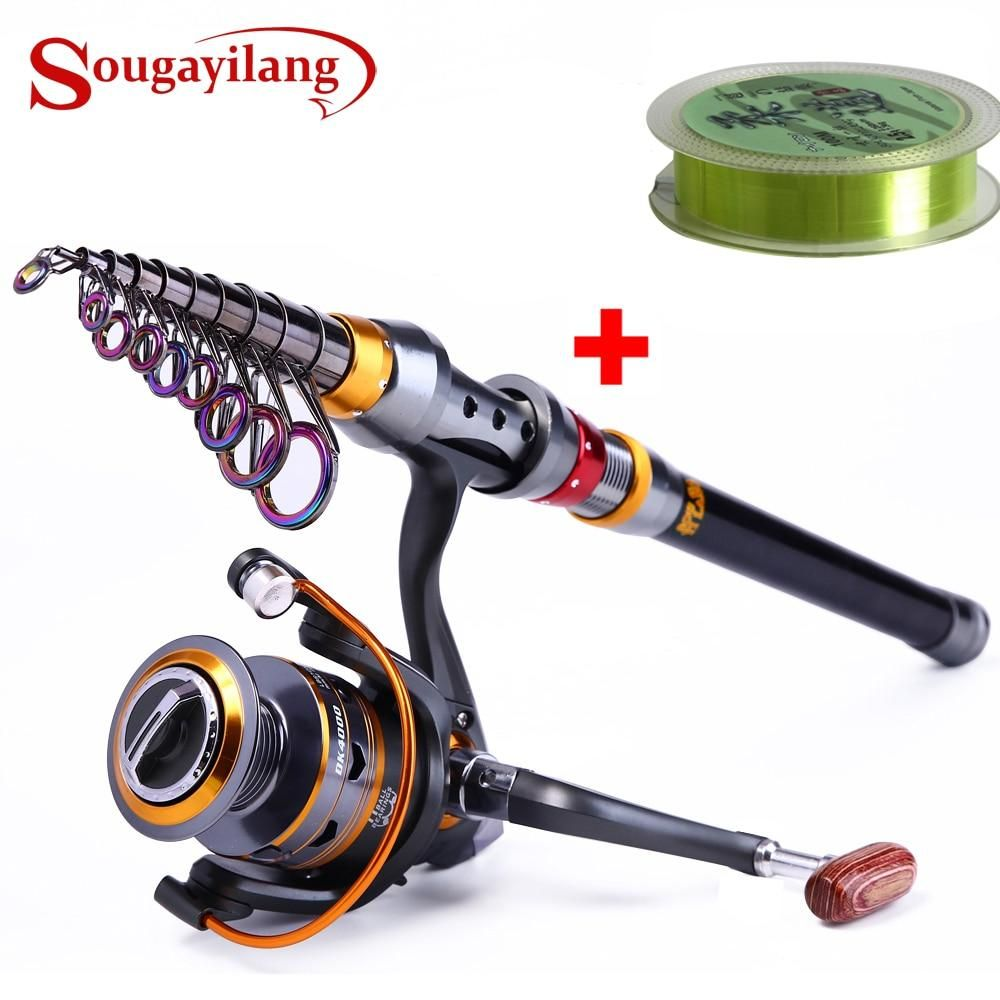 Telescopic Spinning Fishing Rod Combo | Telescopic fishing