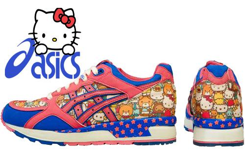 5771d42b3 Asics x Sanrio Hello Kitty GEL-Lyte III @Kelcie Severson these totally  reminded me of you.