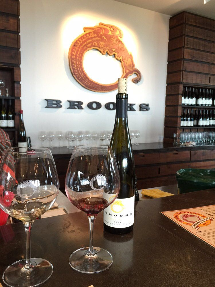 Brooks winery winery food tourism willamette valley