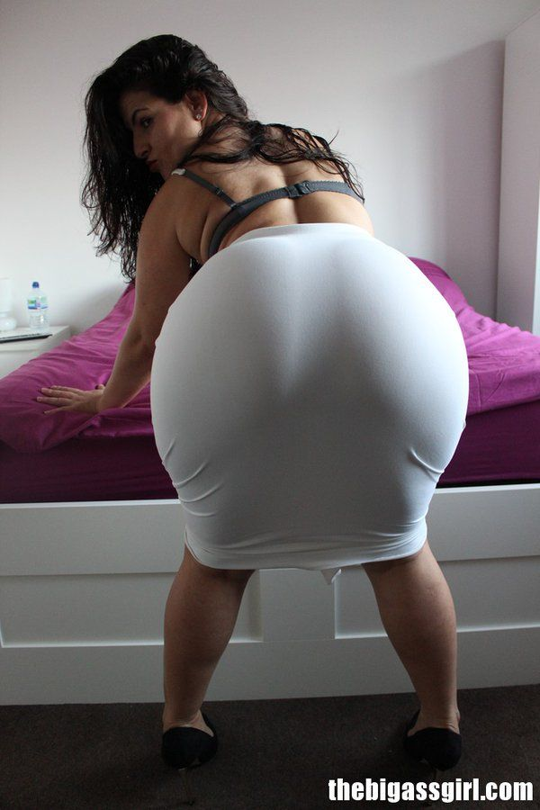Big ass white