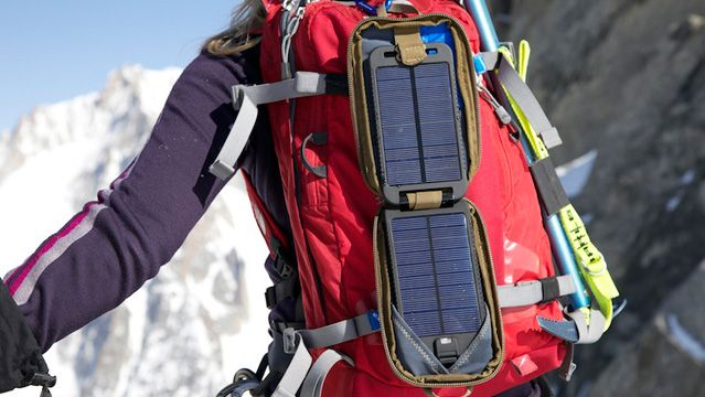 Power your devices anywhere in the world with the Solarmonkey Adventurer and Solargorilla-eXtreme solar packs