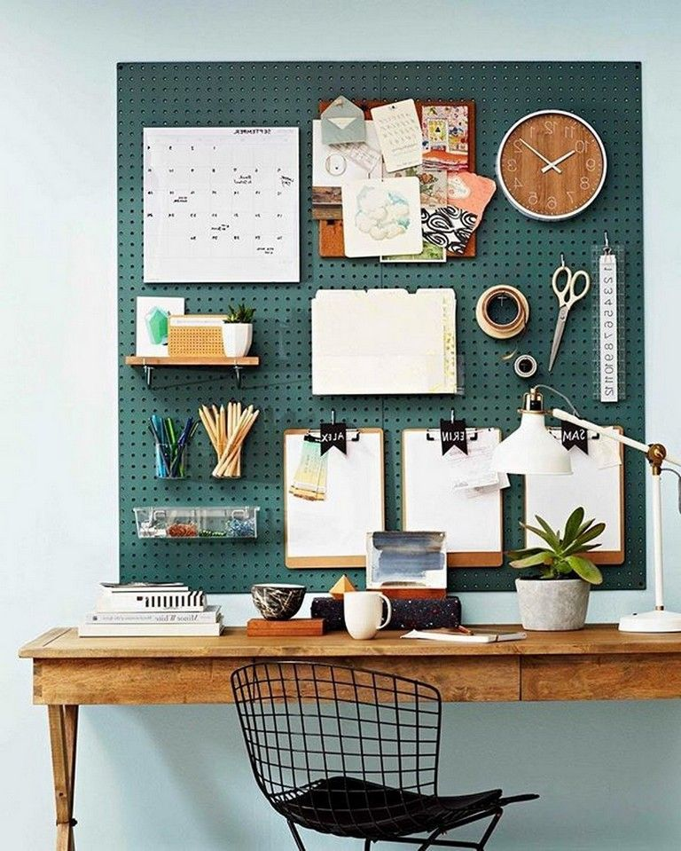 40 SMART WAYS TO SAVING SPACE YOUR HOME OFFICE