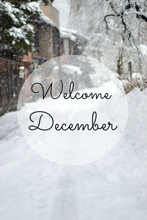 Welcome December #hallodezember