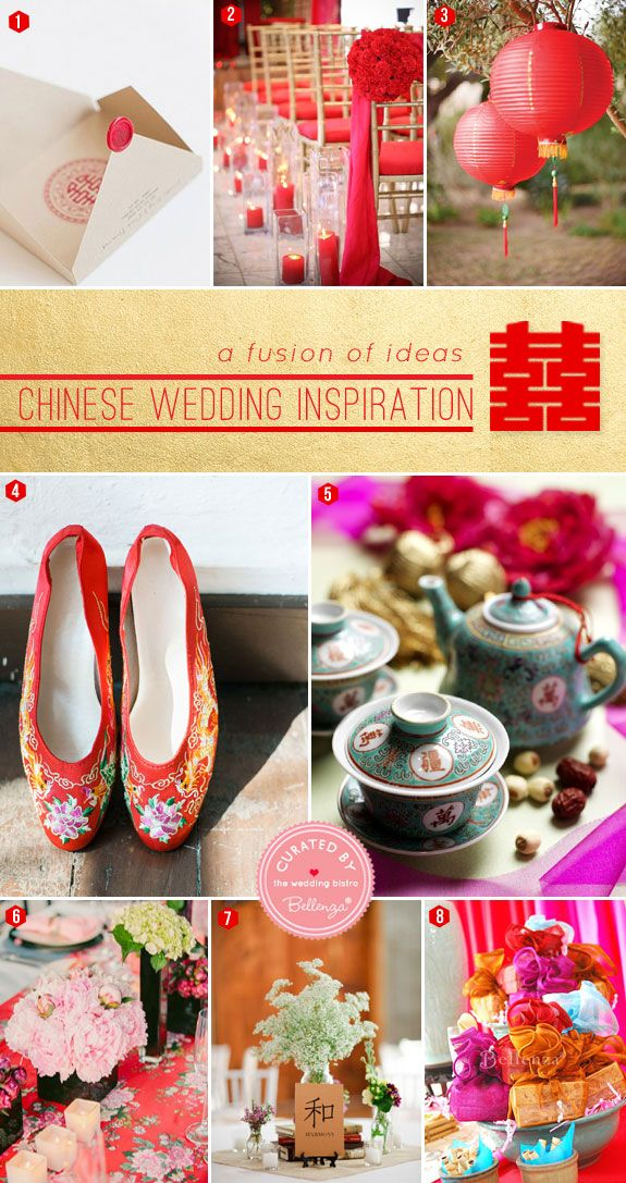Chinese Wedding Ideas for the Ceremony to Reception ...