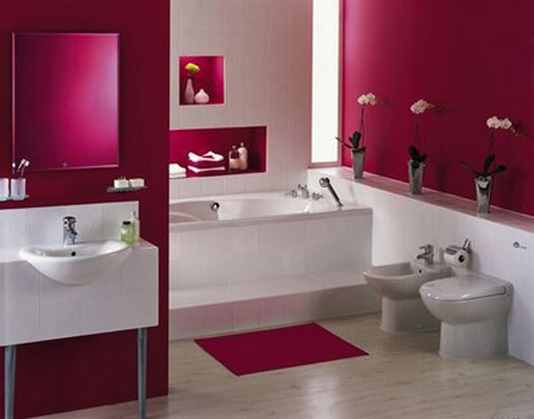 Elegant Images Of Colorful Bathrooms | Colorful Bathroom Designs