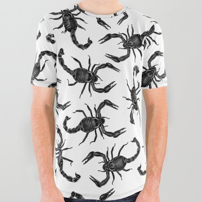 750dbbae0 Buy Scorpion Swarm All Over Graphic Tee by grandeduc. scorpion, scorpions,  scorpio,