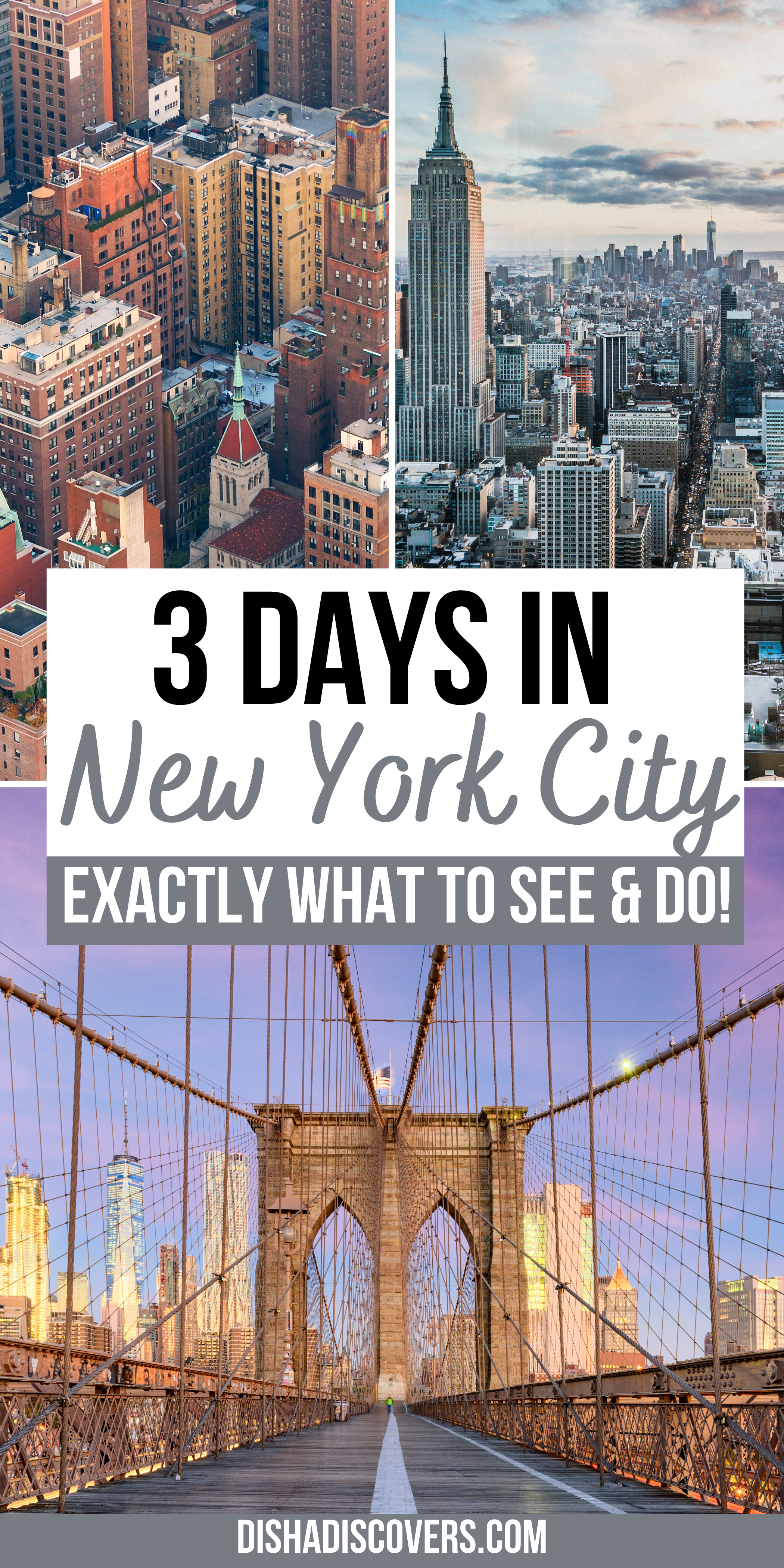 What To See And Do In New York City The Perfect Three Day Itinerary New York City Travel New York Travel New York Travel Guide