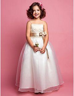 8d1c1326e Vestido Feminino Infantil Classe A de Organza e Cetim para a Florista do  Casamento