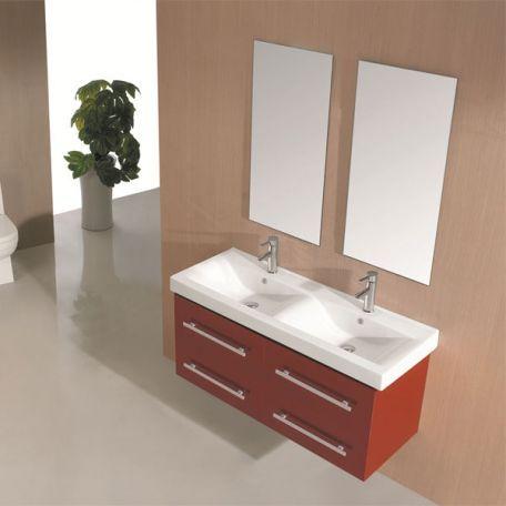 Meubles salle de bain DIS747CO Coquelicot