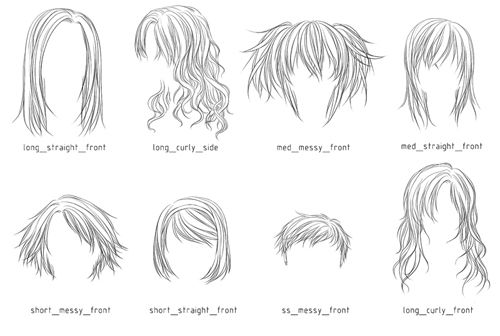 Pin By زهرة الخزامي On ابيض واسود Photoshop Hair Manga Hair Anime Hair