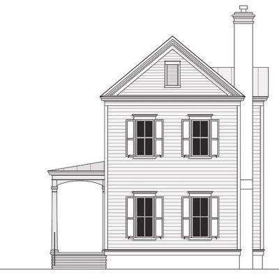 Civitas Cottage Coastal House Plans from Coastal Home Plans