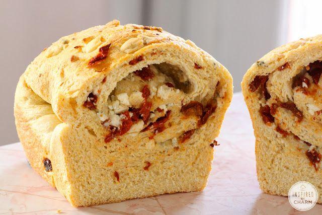Gorgonzola and Sun-Dried Tomato Bread