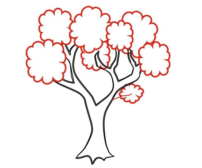 كيفية رسم شجرة العائلة في المدرسة Felt Ornaments Home Decor Decals Home Decor