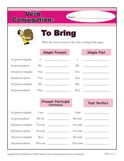 Regular Verbs Worksheets Printable Spanish Conjugation Practice Verb Conjugation Spanish Conjugation Practice