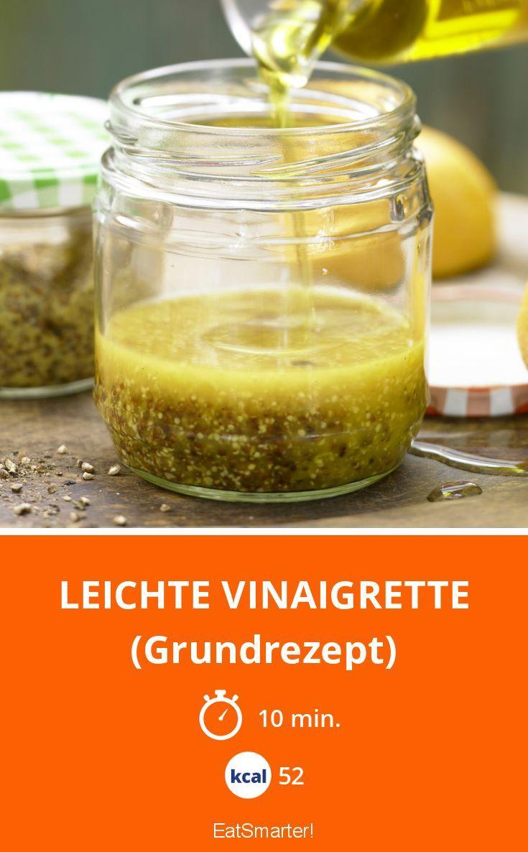 Leichte Vinaigrette Rezept Rezepte Vinaigrette Salad Dressing