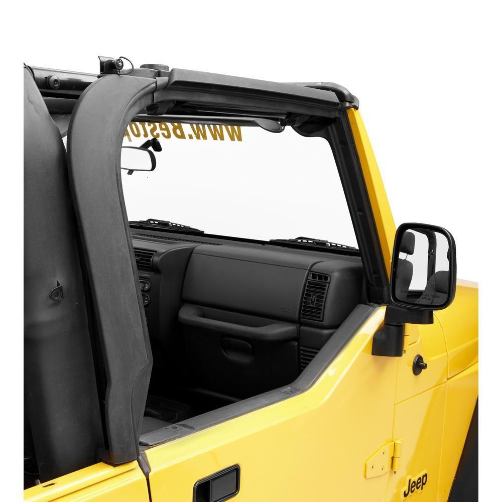 Bestop Door Surrounds For 1997 2006 Wrangler Tj Set Of 2 Jeep