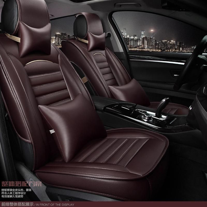 Full Set Luxury PADDED Leather Look Car Seat Covers Mercedes Vito