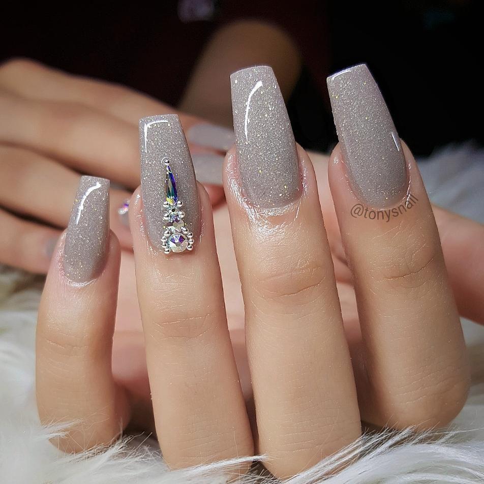 Pretty Nails Design Allpowder Acrylicmix Tonyacrylic