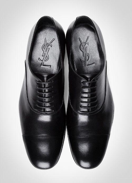 49860e12f5 Yves Saint Laurent lace ups | Gentleman's Style | Leather dress ...