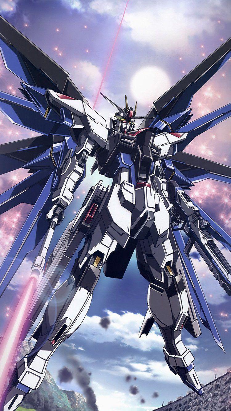 ar85freedomgundamartillustrationanime Gundam art