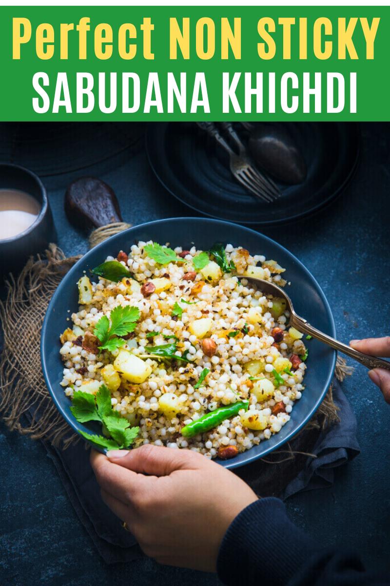 Sabudana Khichdi Recipe Sabudana Khichdi Healthy Indian Recipes Indian Food Recipes