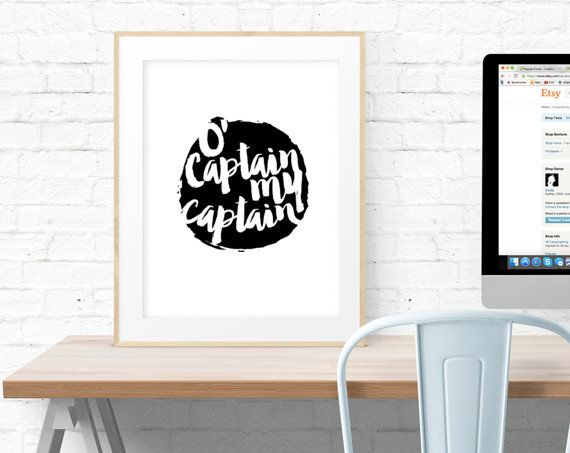 Examples Of High School Essays O Captain My Captain Dead Poets Society Printable By Typographing Essay About Good Health also How To Write An Essay For High School Students O Captain My Captain Dead Poets Society Printable By Typographing  Research Paper Vs Essay
