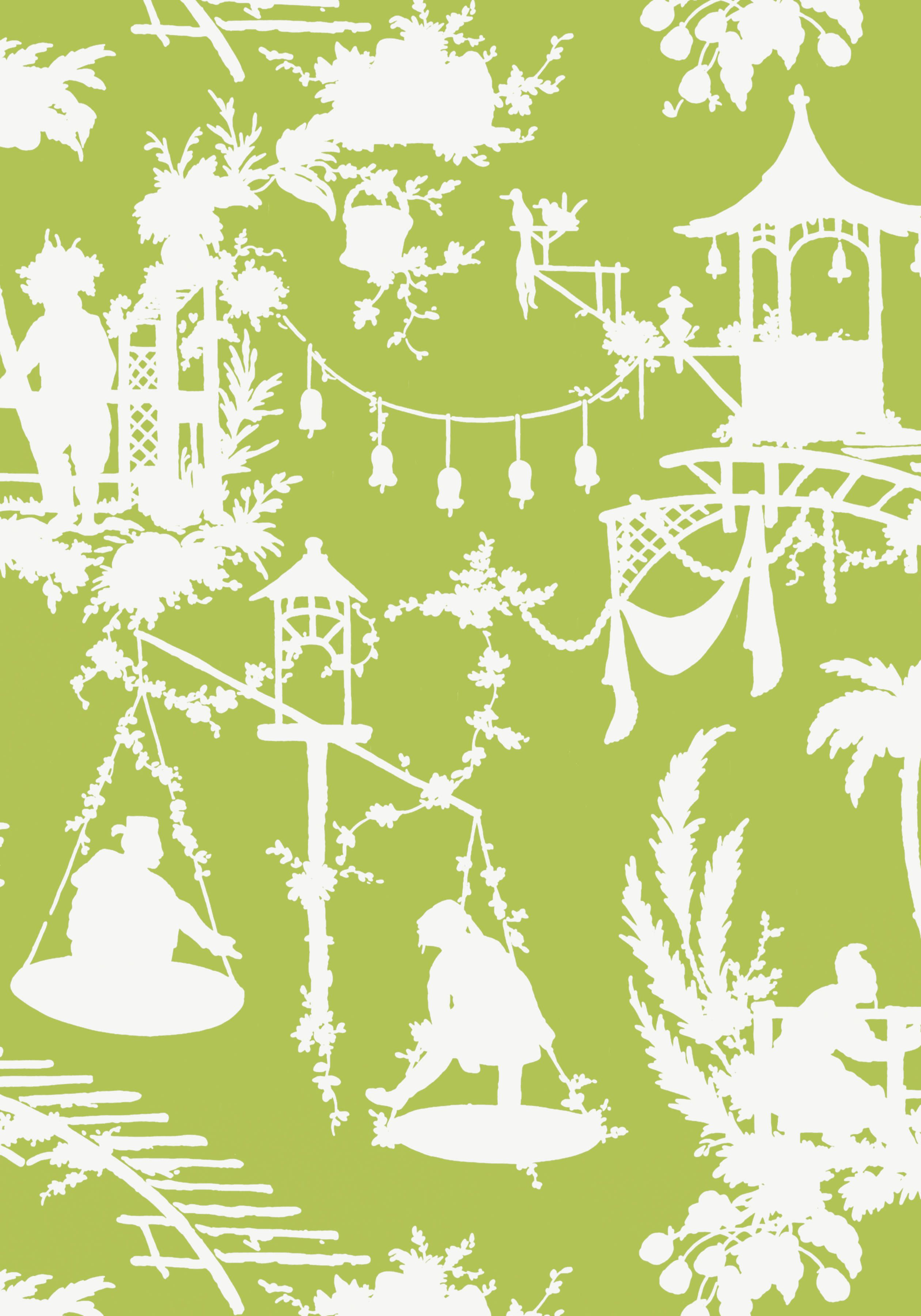 SOUTH SEA, Green, T16025, Collection Resort from Thibaut | Decor ...