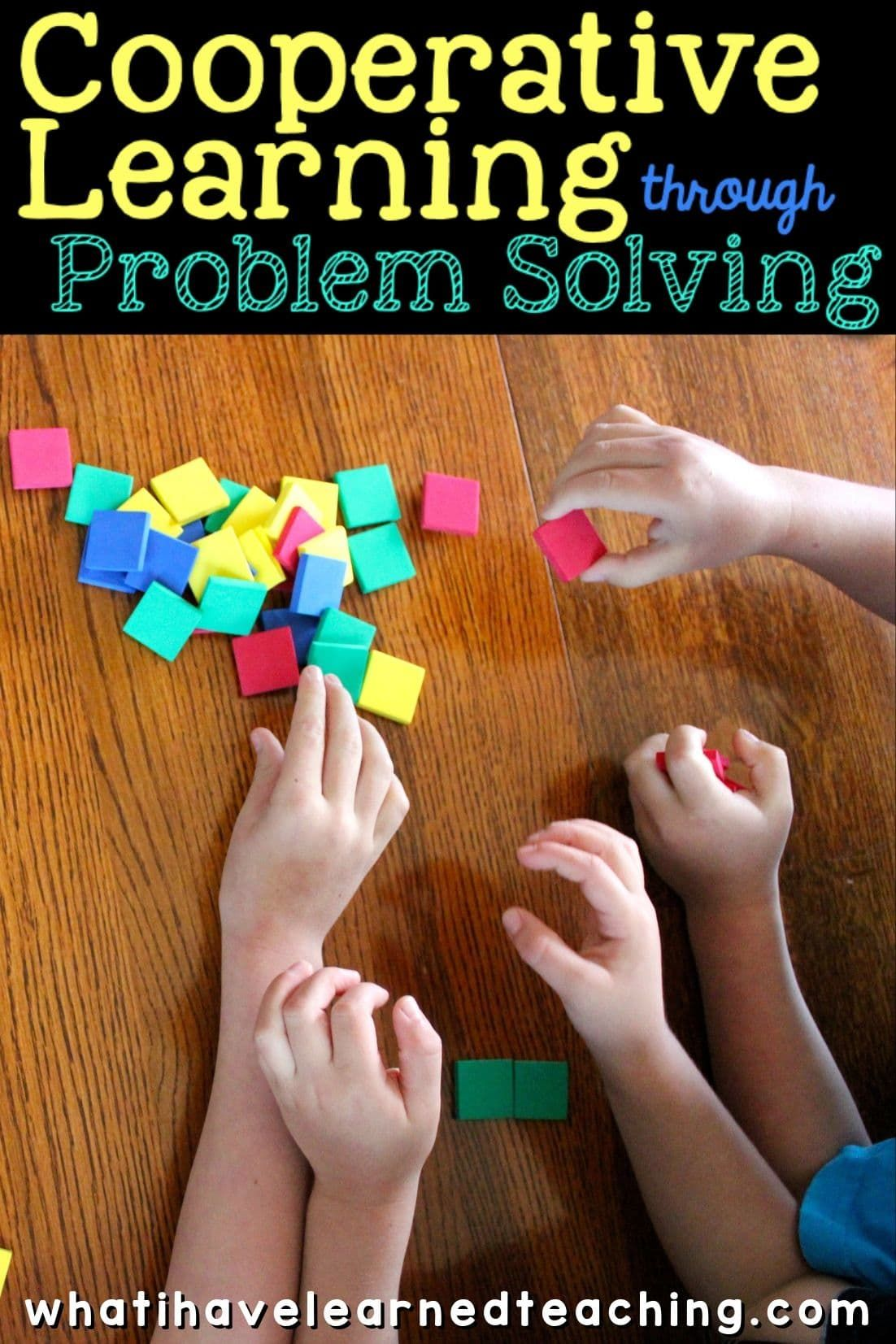 Engage Student In Cooperative Learning Activities By