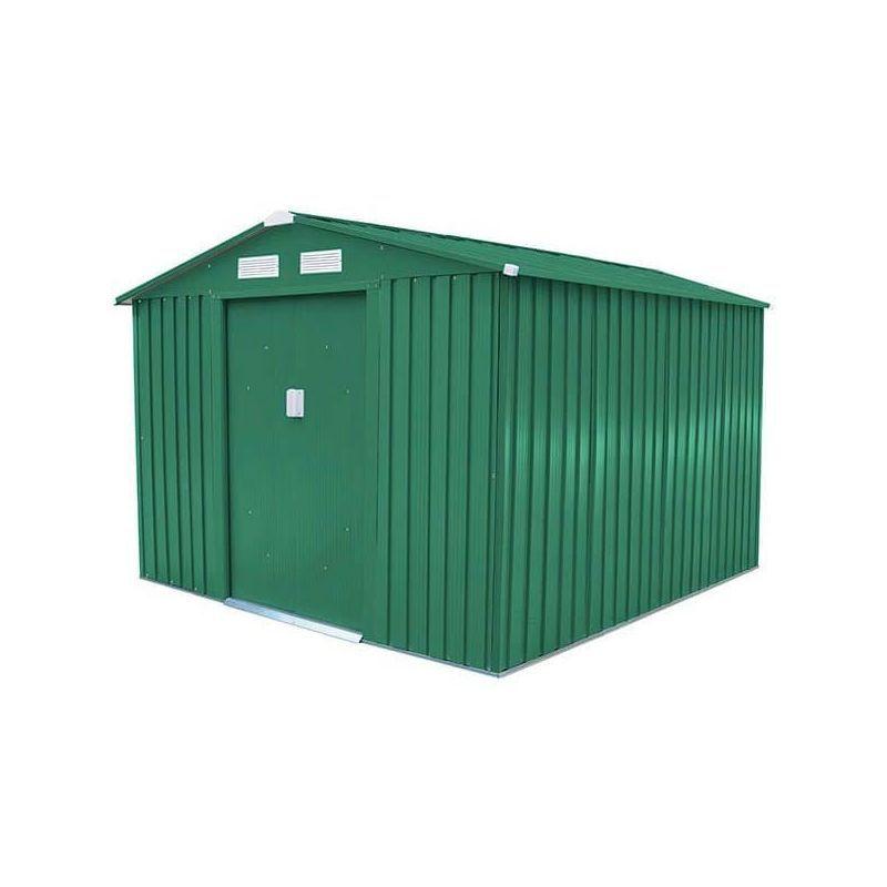 Abri De Jardin Metal 5 75 M2 Kit D Ancrage Inclus J Abr016 Outdoor Outdoor Structures Shed