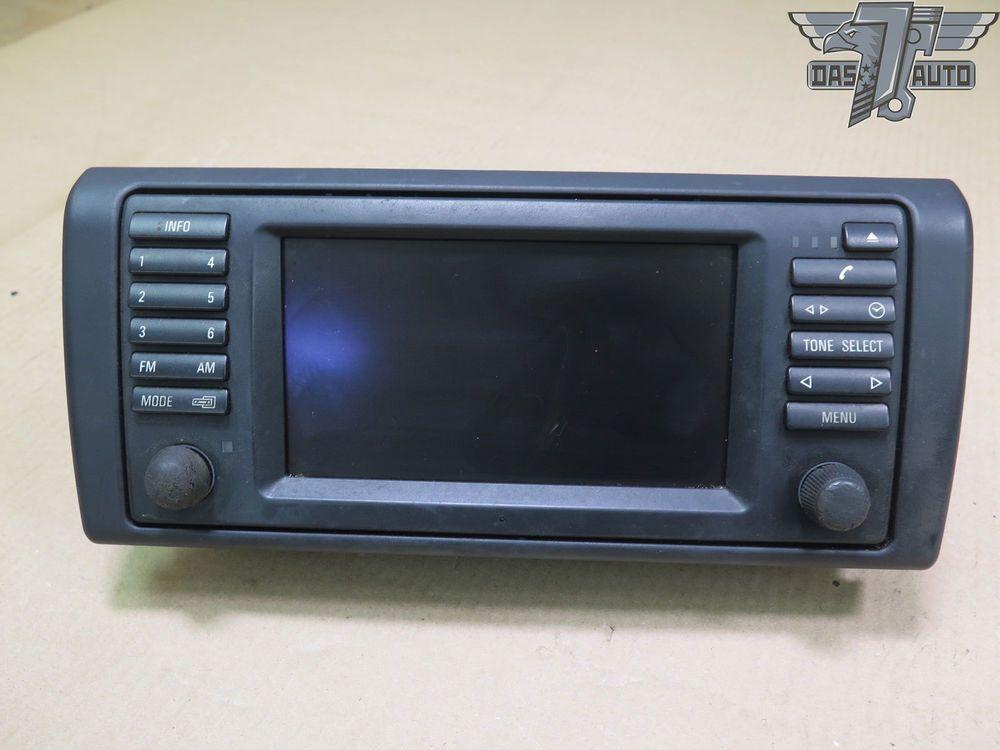 00 03 Bmw E38 740il Alpine Gps Navigation Radio Receiver 6913387 Oem