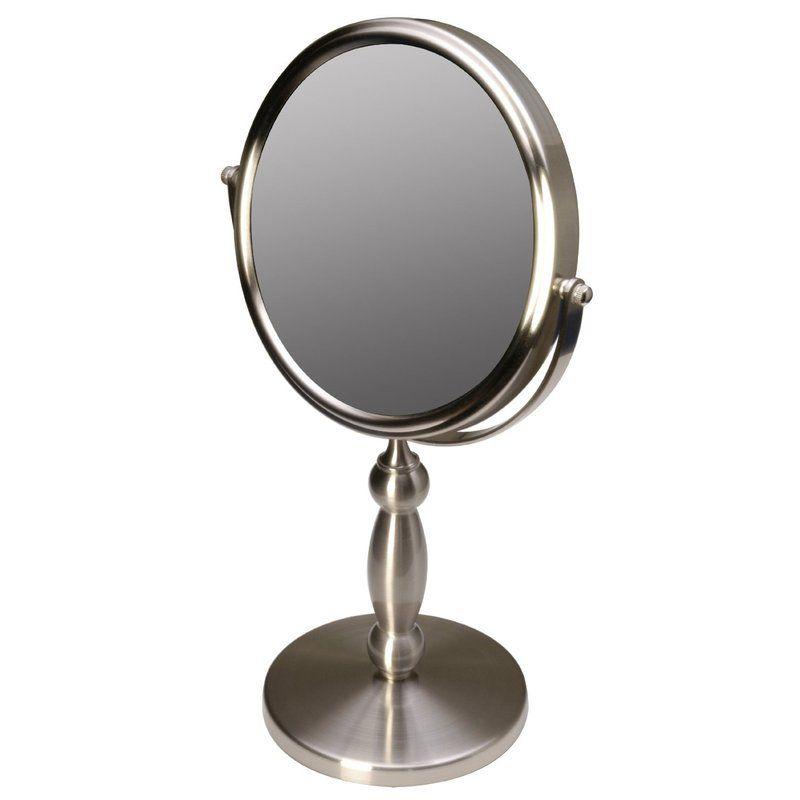 Three Posts Gammon Vanity 15x 1x Magnification Swivel Mirror