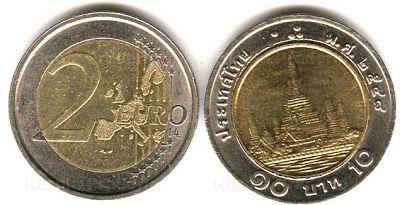 """Criscuolo Raffaele: Attenzione a questi """" 2 euro """" , una moneta vera m..."""