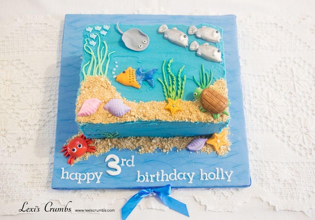 Prime Under The Sea Cake Finding Nemo Birthday Cake Sea Cakes Under Funny Birthday Cards Online Eattedamsfinfo
