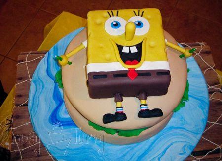 SpongeBob Krusty Burger Birthday Cake Birthday cakes Burgers