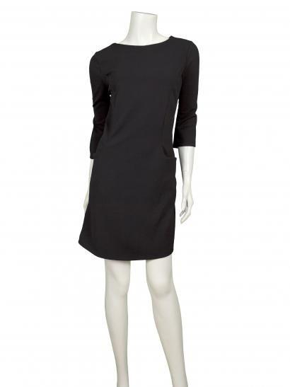 Damen Jersey Tunika Kleid, schwarz | Jersey Kleider | Pinterest
