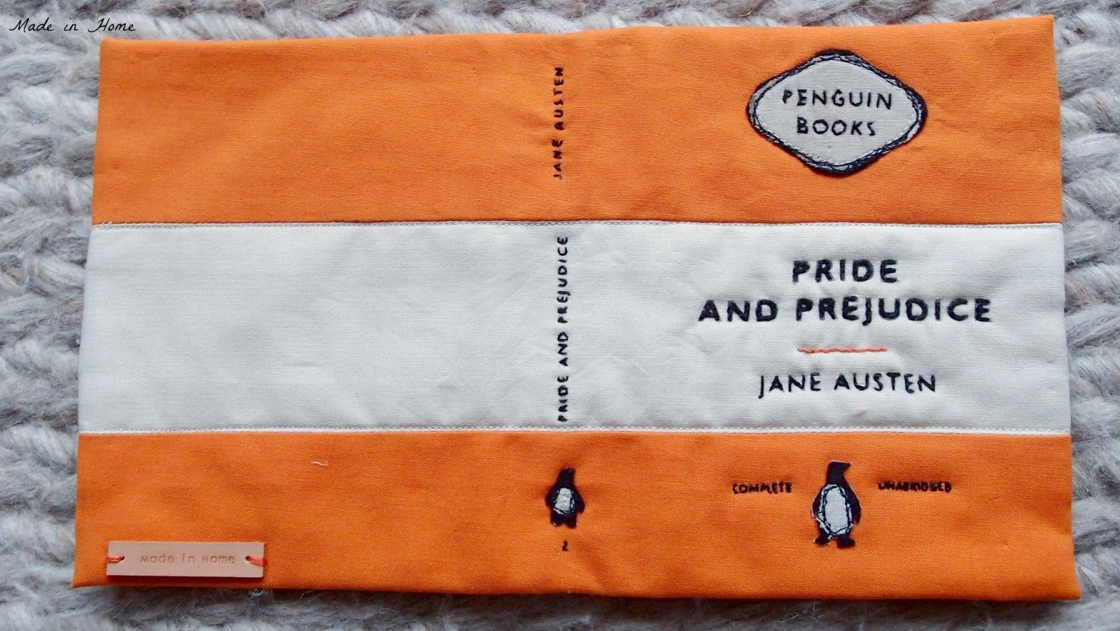 Made in Home: The Bookclutch Cover | Tutorial {Quilting}