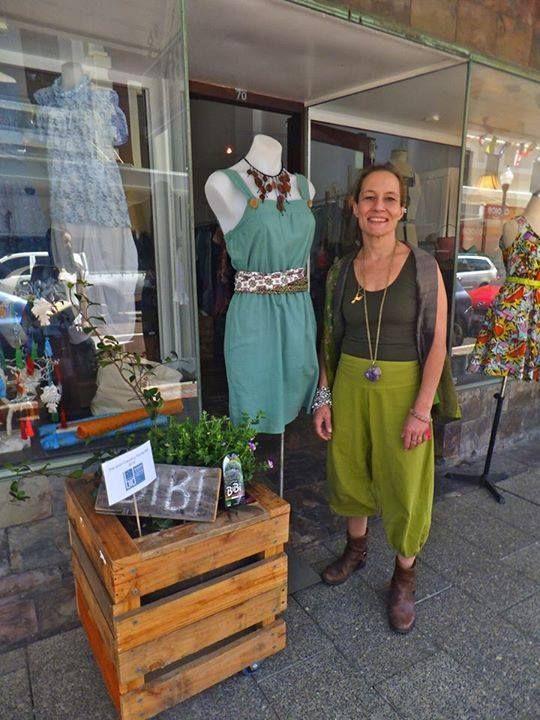 Bibi Vintage Fair Trade High St Fremantle Shirt Dress Bibi Fashion