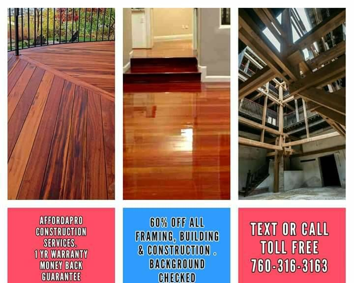 we re very experienced residential and small commercial contractors