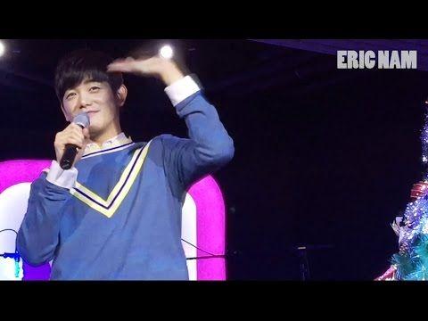정오의 희망곡 김신영입니다 - Eric Nam - White Christmas, 에릭남 - 화이트 크리스마스 20131219 - YouTube