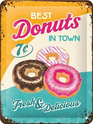Best Donuts-peltikyltti