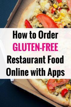 Ordering gluten-free restaurant food online with apps: Celiac disease news