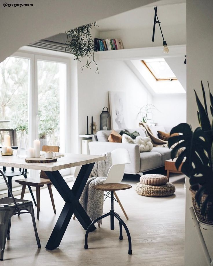 scandi meets boho style mix in scandinavian if two hip style direction direction meets on boho chic dining room kitchen dining tables id=57028