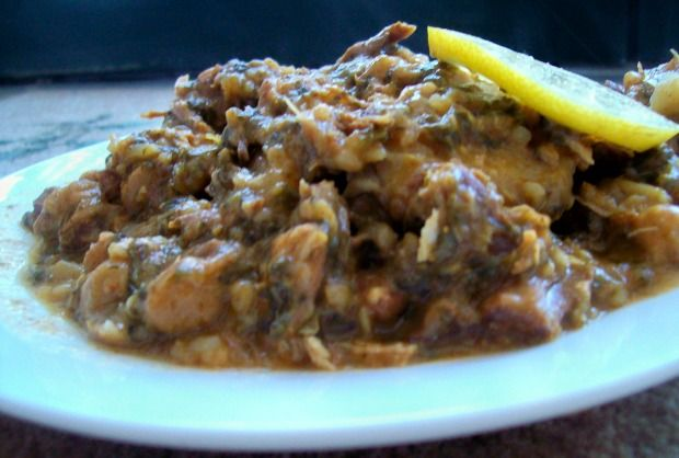 Lemon Lamb Cholent - a little lighter for the summer, absolutely delish.