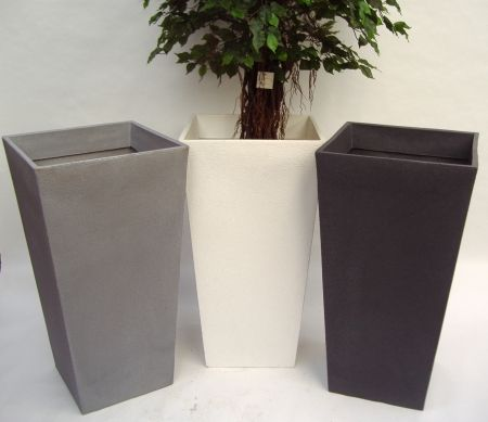 Beau Outdoor Planters And Urns | Large Plastic Garden Planter | Pots And Planters  | Artificial Plants .