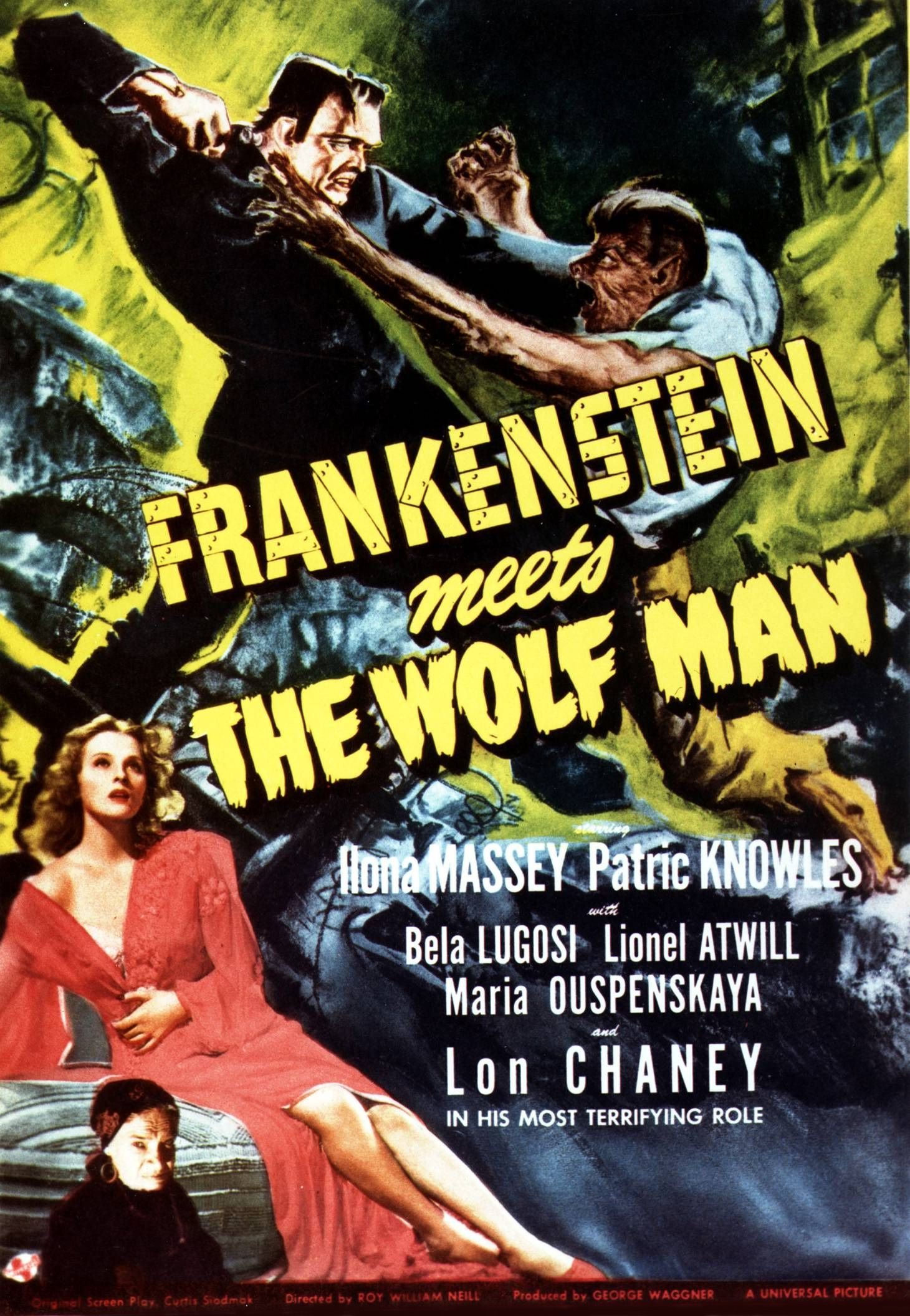 Frankenstein Meets The Wolfman  Privacy Statement Visitor