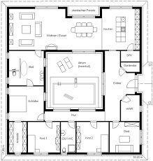Bildergebnis f r grundrisse bungalow 140 qm for Haus in u form
