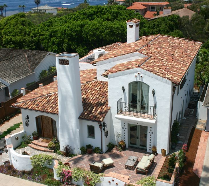 20 Spanish Style Homes From Some Country To Inspire You: Image Result For Red Clay Spanish Tile On Parapet Walls
