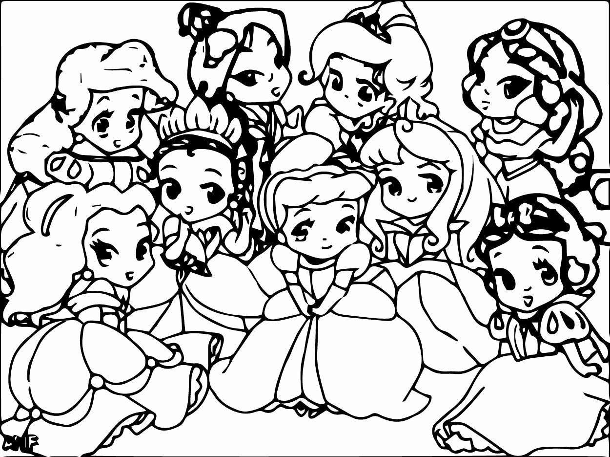 Disney Baby Princess Coloring Pages Inspirational Disney Baby Princess Coloring Pages Disney Princess Coloring Pages Disney Princess Colors Baby Coloring Pages
